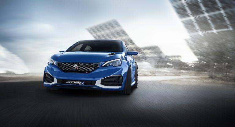 Mobil Konsep Peugeot 308 R Hybrid akan Tampil di Shanghai Auto Show