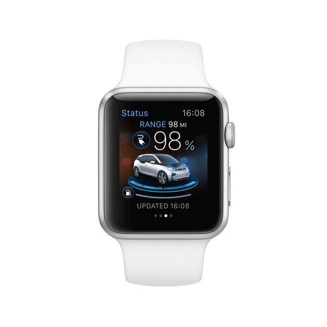 "BMW Tunjukkan aplikasi ""i Remote"" di Apple Watch untuk i-Series"