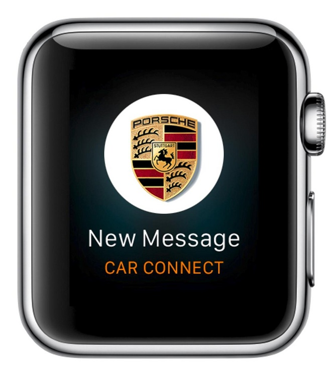 Porsche Juga Sediakan Aplikasi Car Connect untuk Apple Watch
