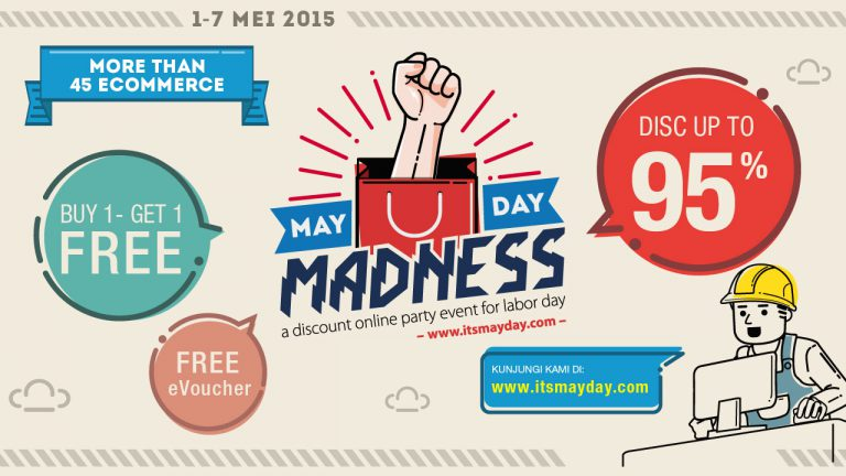 Ingin Gadget Murah, Ikuti MayDay Madness 2015