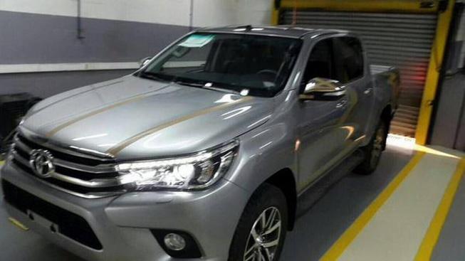 Inikah Tampilan Toyota Hilux Diesel Baru?