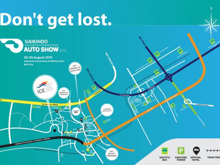 Inilah Lokasi Shuttle Bus untuk Menuju Lokasi Pameran GIIAS 2015