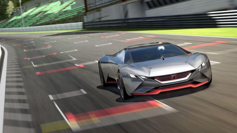 Peugeot Vision GT Tandai Visi Peugeot di Masa depan