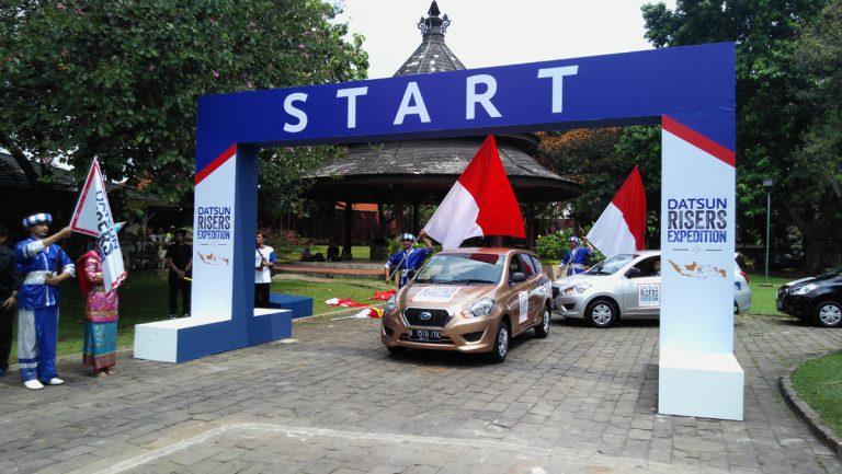 Keliling Nusantara, Datsun Uji Lima GO+ Panca
