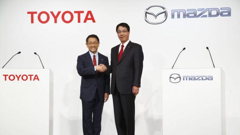 Resmi, Toyota Berkolaborasi dengan Mazda untuk Kendaraan yang Lebih Baik