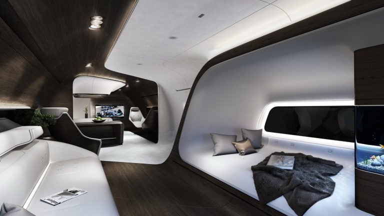 Kerjasama Lufthansa Technik dan Mercedes Benz Hasilkan Kabin VIP