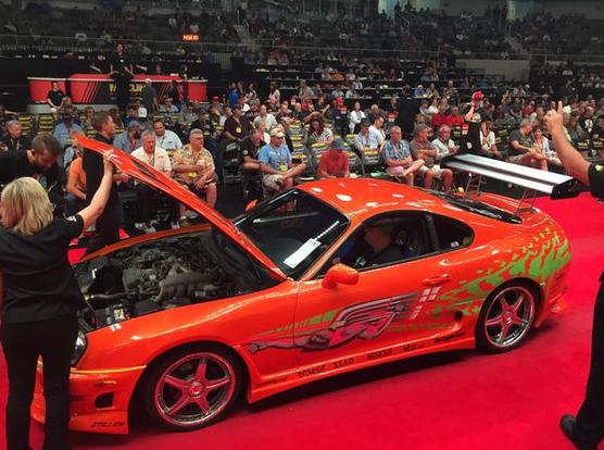 Toyota Supra Paul Walker dalam Fast & Furius Pertama Laku US$ 185.000