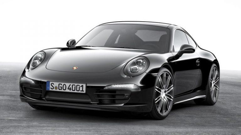 Porsche Perkenalkan Black Edition untuk 911 Carrera dan Boxster