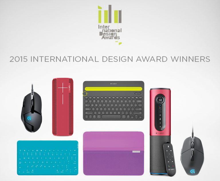 Logitech Raih Tujuh Kemenangan di Ajang International Design Awards