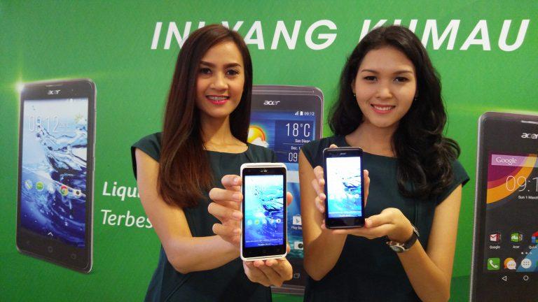 Inilah Tiga Smartphone Terbaru Acer
