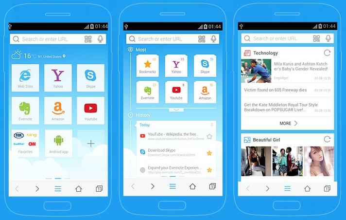 Lebih Bersahabat, Baidu Browser Dilengkapi Fitur Kabar Pilihan