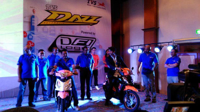 TVS Keluarkan Seri Dazz DFI untuk Para Wanita Aktif di Indonesia