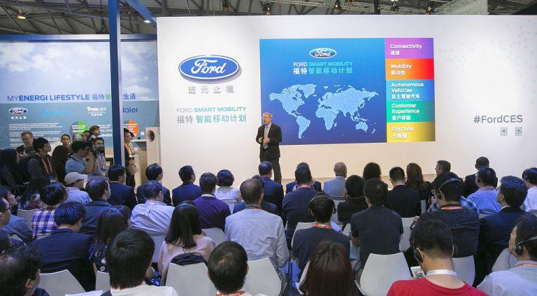 Teknologi Konektivitas dari Ford Smart Mobility Hadir dalam CES Asia
