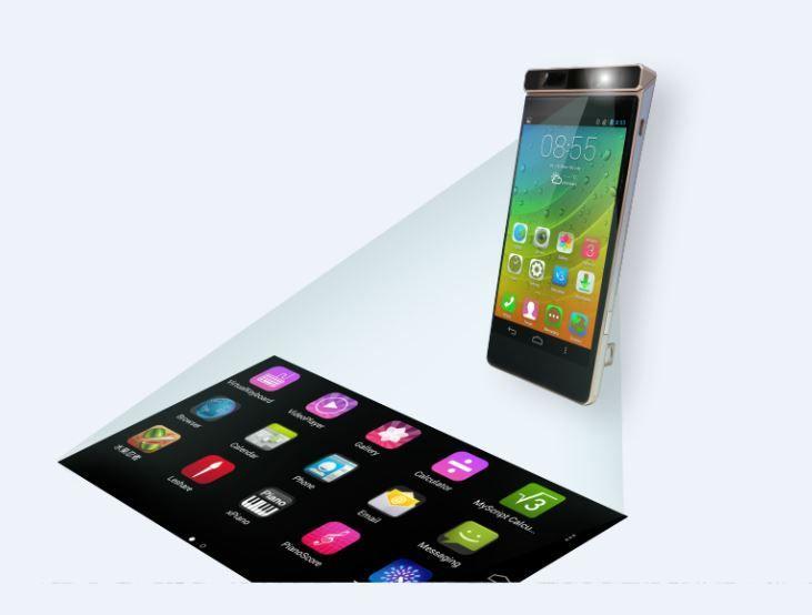 Smartcase Concept: Proyektor Laser Interaktif dalam Smartphone Lenovo