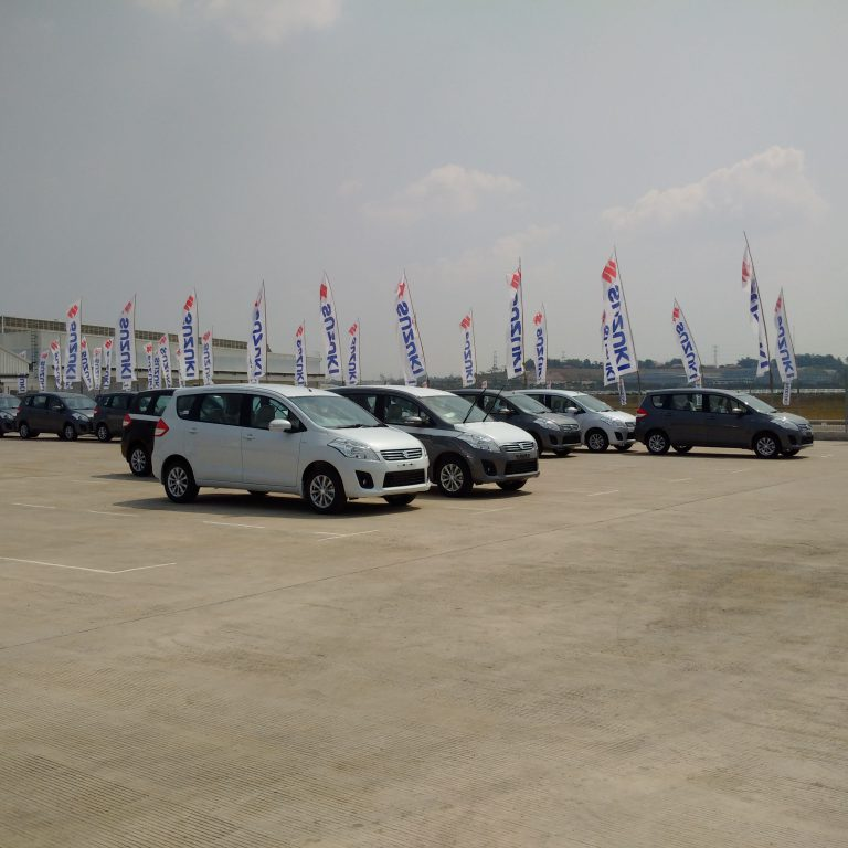 Dibuka Bertahap, Pabrik Suzuki Beroperasi Kembali