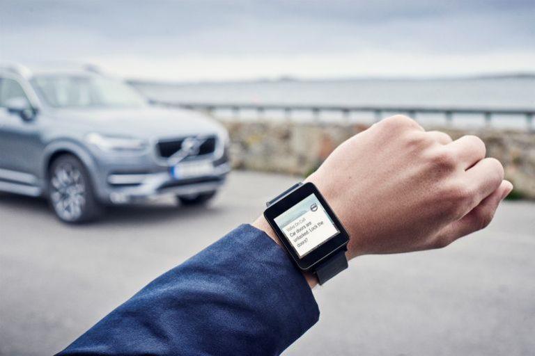 Volvo Update Aplikasi On Call untuk Apple Watch dan Android Wear