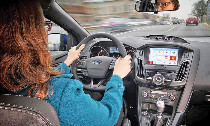 Toyota dan Ford Sama-sama Kembangkan Dashboard Infotainment