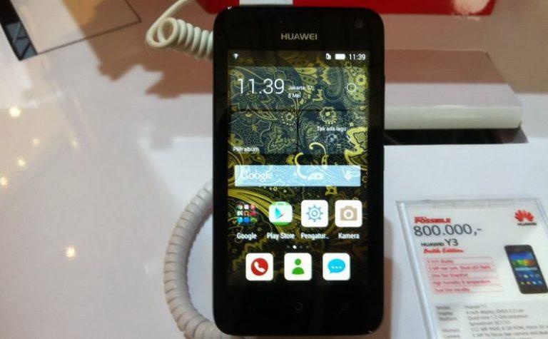 Huawei Jual Smartphone Batik Seharga Rp800 Ribuan