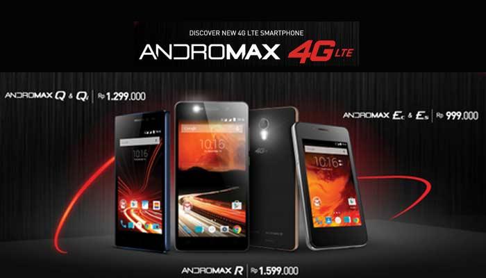 Lima Smartphone 4G LTE Smartfren Meluncur di Indonesia