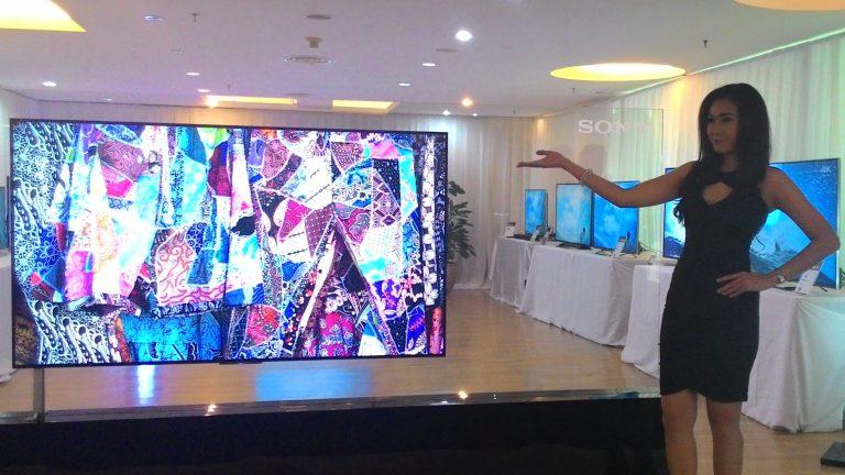 Sony Perkenalkan TV BRAVIA 4K, Ultra Tipis dan Dukungan Prosesor X1 4K