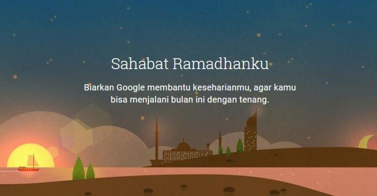 Meriahkan Ramadhan Bersama Google