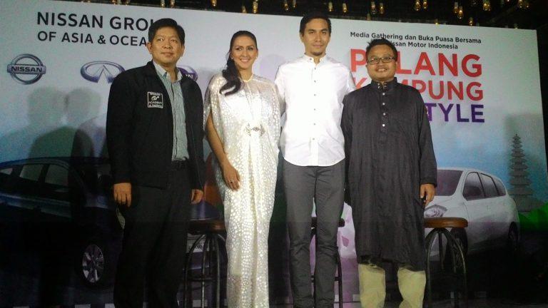 Nissan Tunjuk Keluarga Darius Jadi Brand Ambassador Grand Livina