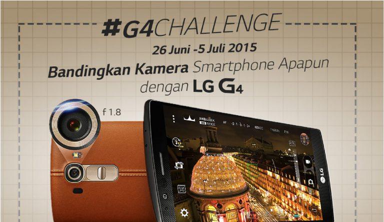 Pede dengan Kinerja Kameranya, LG Gelar Kompetisi