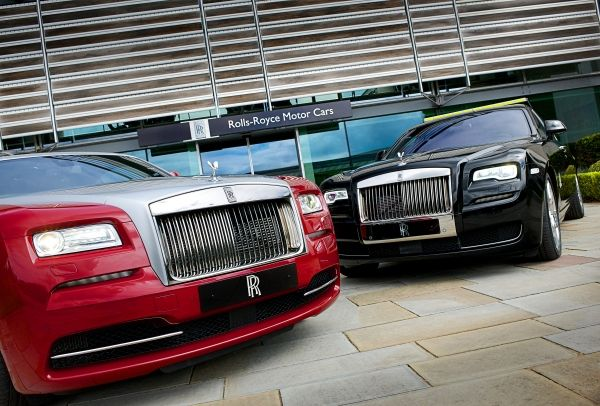 Rolls-Royce Wraith dan Ghost Series II Tampil di Goodwood Festival of Speed 2015