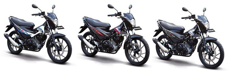 New Suzuki Satria FU150 Hadir dalam Delapan Pilihan Warna