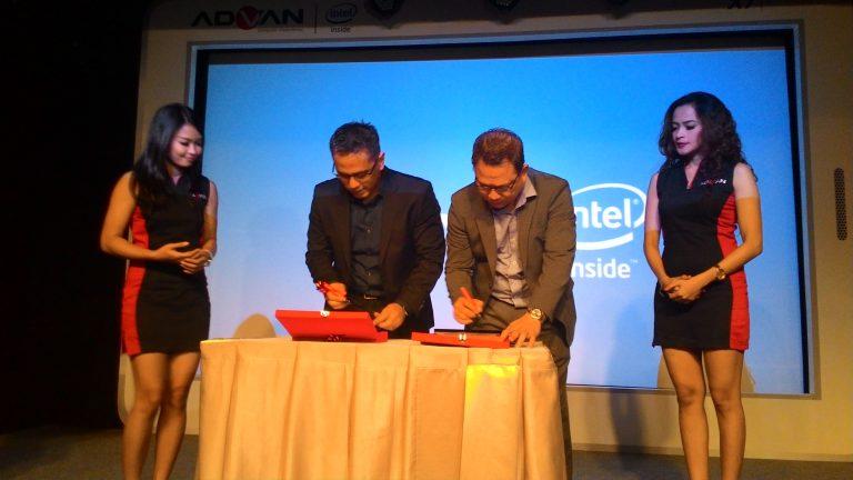 Bermitra dengan Intel, ADVAN Akan Lahirkan Vandroid Berbasis Atom X3