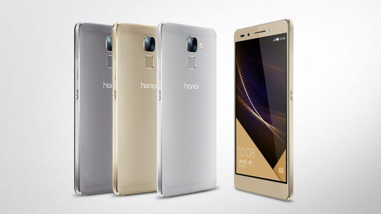 Huawei Honor 7 Resmi Meluncur, Kamera Utama 20 MP Plus Sensor Fingerprint