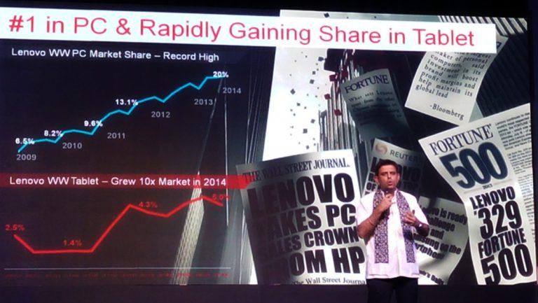 Gunakan Logo Baru, Lenovo Semakin yakin Tatap Masa Depan