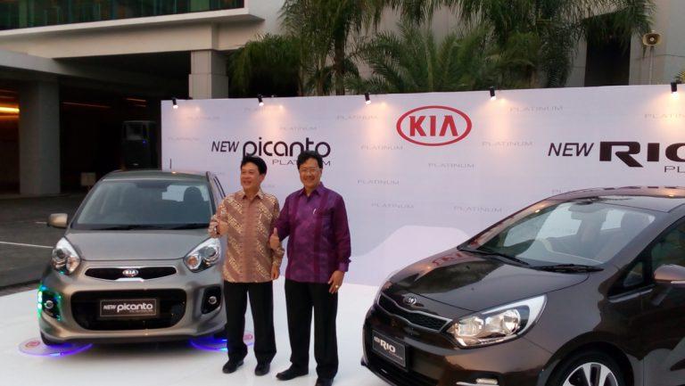 KIA Luncurkan New Rio Platinum dan New Picanto Platinum