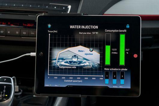 BMW Water Injection Dapat Mereduksi Suhu Pembakaran