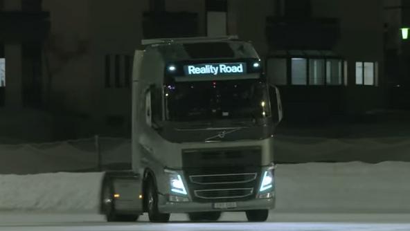 Volvo Trucks Kolaborasi dengan Penyanyi Swedia, Mapei untuk Rekaman Video Klip Musik