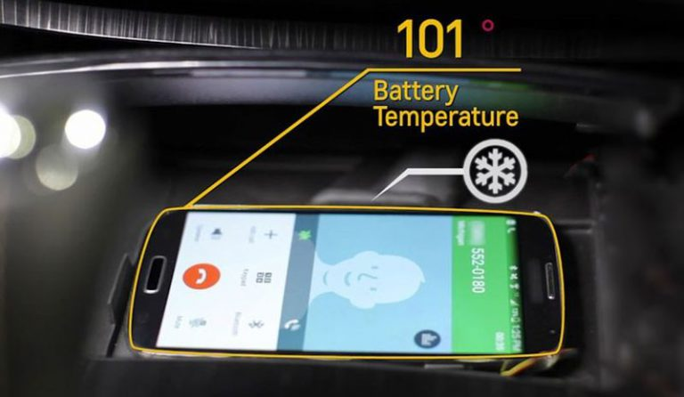 Cara Jitu Chevrolet Atasi Smartphone Kepanasan di Kabin Mobil