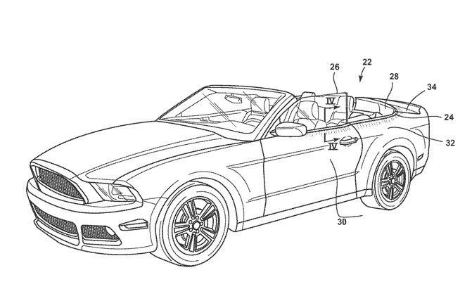 Ford Daftarkan Paten untuk Luminescent Vehicle Molding