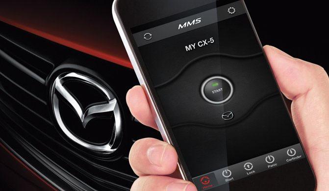 Mazda Perkenalkan Aplikasi Remote Start
