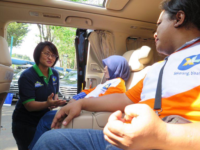 Gelar Mudik Bareng, XL Berangkatkan 1000 Penjual Pulsa