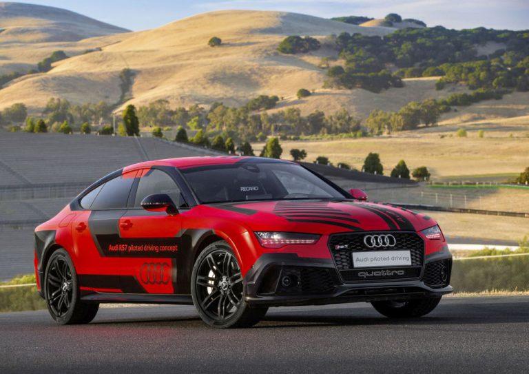 Perkenalkan Robby, Mobil Balap Autonomous Audi RS 7 yang Lebih Jagoan daripada Pembalap