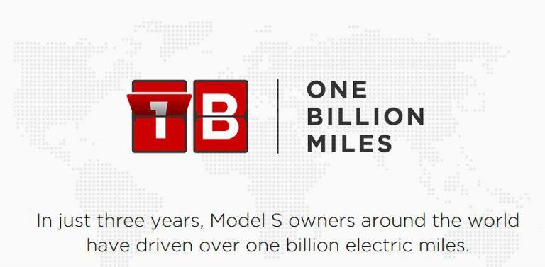 Tiga Tahun Dirilis, Jarak Tempuh Semua Mobil Tesla Model S Telah Melebihi 1 Miliar Kilometer