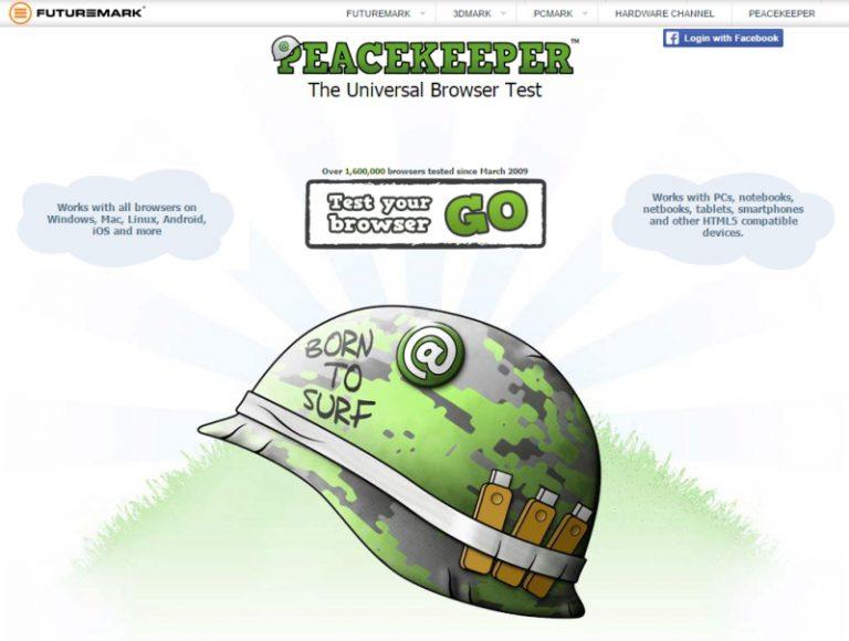 Dianggap Kurang Relevan, Futuremark Stop Dukungan Tool Benchmark Browser Peacekeeper