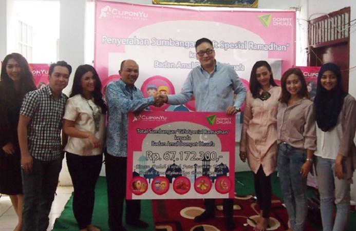 Dari Virtual Gift Saat Ramadhan, CliponYu Berhasil Kumpulkan Donasi Rp 67 Juta