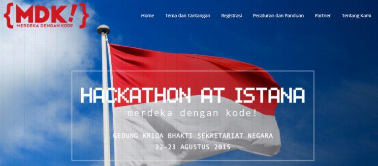 Selesaikan Masalah Bangsa, Jokowi Tantang Developer Indonesia Melalui Hackathon@Istana