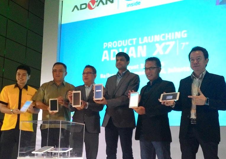 Kolaborasi ADVAN dan Intel Telurkan Vandroid X7