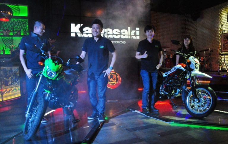 Kawasaki D-Tracker Terbaru Tampil Gahar dengan Ban Lebih Besar