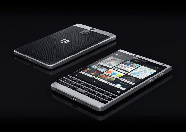 BlackBerry Rilis Passport Versi Warna Silver