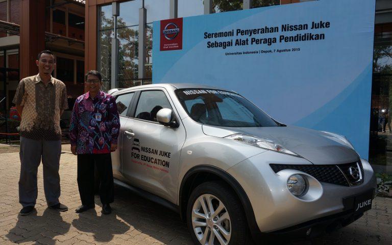 Sukses Gelar Nissan Juke for Education, PT NMI Raih Penghargaan CSR Award 2015