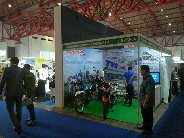 TVS Max Hadir di Pameran Inapalm Asia dan Inagritech 2015