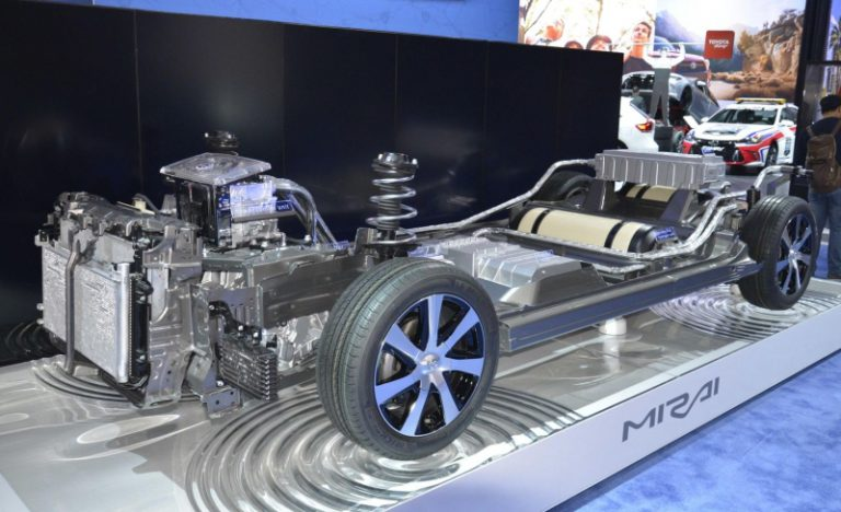 Toyota akan Pamerkan Mirai dan i-ROAD di GIIAS 2015